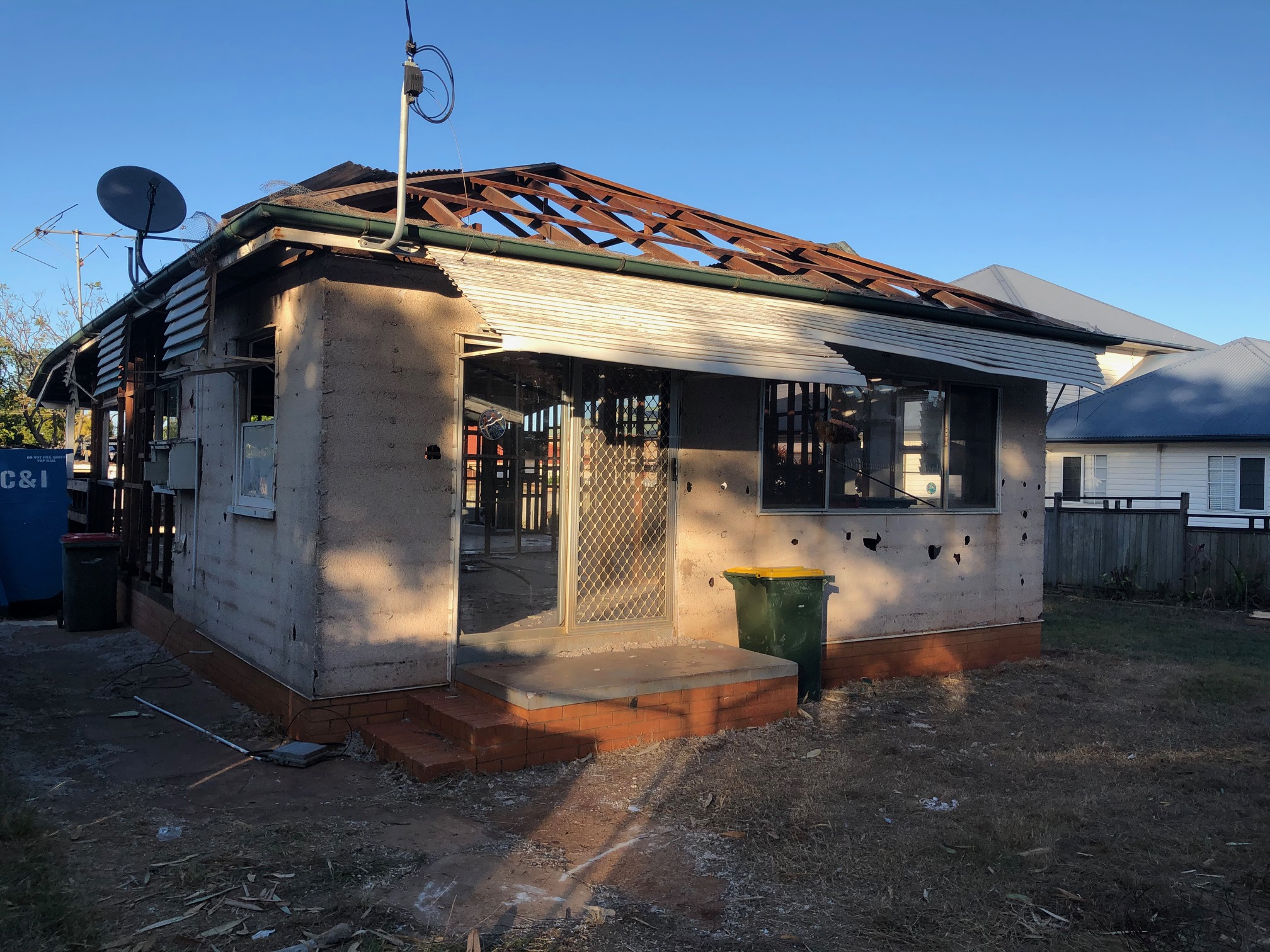 Woody Point house after
